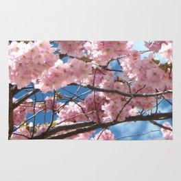 Cherry Tree In Bloom Rug