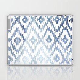 Indigo Ikat Print 3 Laptop & iPad Skin