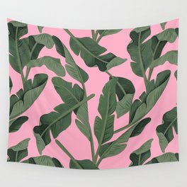 Tropical '17 - Forest [Banana Leaves] Wall Tapestry
