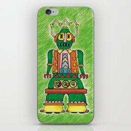 daz-bot by Nettwork2Design - nettie heron-middleton iPhone Skin