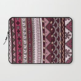 Yzor pattern 004 lilac Laptop Sleeve