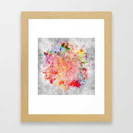 Mandala - Vandal Framed Art Print
