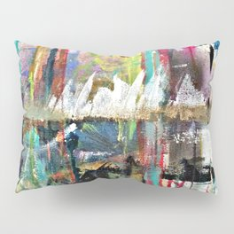 Colorful Bohemian Abstract 3 Pillow Sham