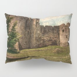 Chepstow Castle Towers Pillow Sham