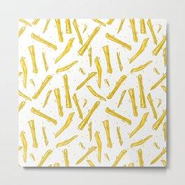 food french fries Metal Print