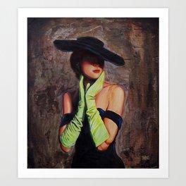 Lacey #2 Art Print