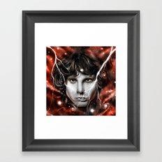 J I M Framed Art Print