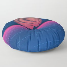 Sci-Fi and Fiction Background Floor Pillow