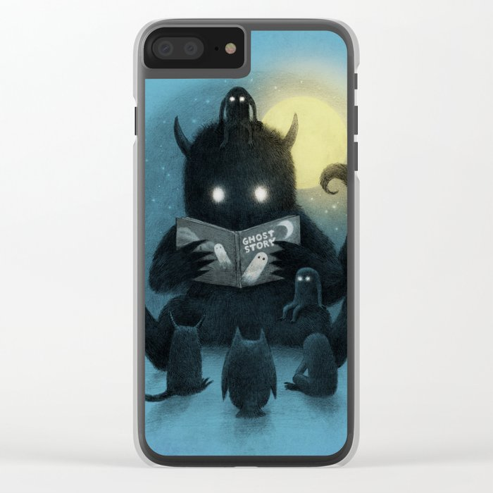 Story Time Clear iPhone Case