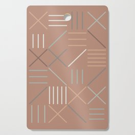 Geometric Shapes 07 Cutting Board