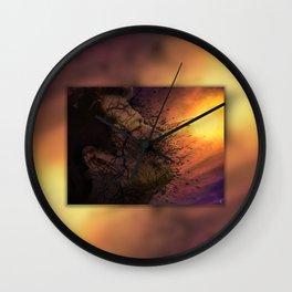 Leviathan Sunset Wall Clock