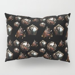 Many Faces of Pantheon - League of Legends Pillow Sham