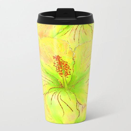 Summer glitter #10 Metal Travel Mug