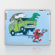 DinoLatte Run Down Laptop & iPad Skin