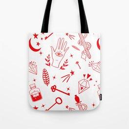 Magic symbols Tote Bag