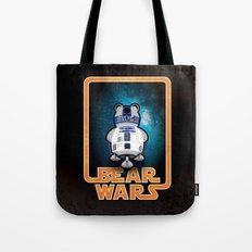 Bear Wars - GRRR2D2 Tote Bag