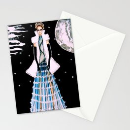 Ethereal Beauty Fashion Illustration By James Thomas Ryan Stationery Cards