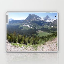 Glacier Park Mountains Laptop & iPad Skin
