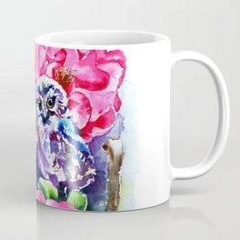 Little Saw Whet Owls Coffee Mug