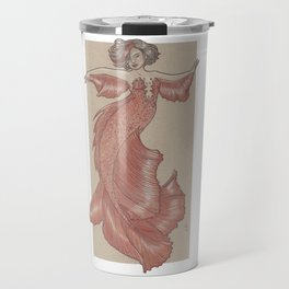Dancing Mermaid Travel Mug