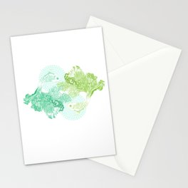 Sea Dancers Stationery Cards