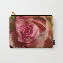 Extra veins on a rose Carry-All Pouch