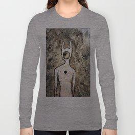 Ancient Alien Petroglyph Long Sleeve T-shirt