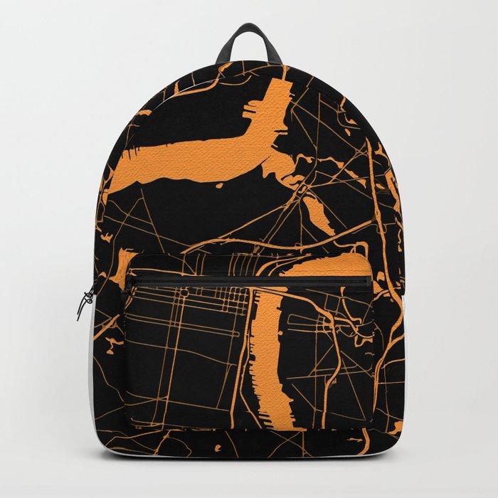Philadelphia - The Orange and the Black Backpack
