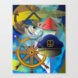 Nautical Design Canvas Print