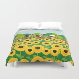 Le Tour I Duvet Cover