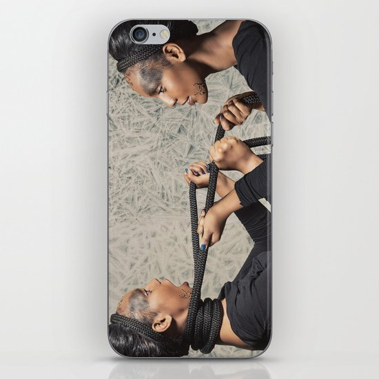 At War with Oneself iPhone & iPod Skin