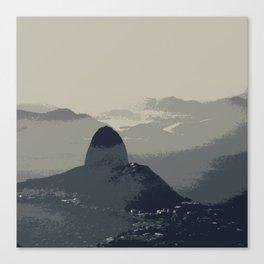 Grey Sugarloaf Mountain Canvas Print