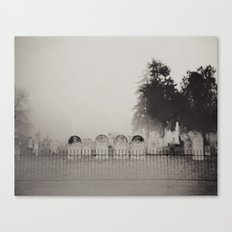 Old Cemetery Canvas Print
