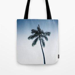 palm tree ver.navy Tote Bag