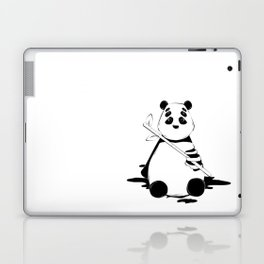 Bamboo lover little bear Laptop & iPad Skin