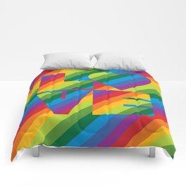 Rainbow Love Comforters
