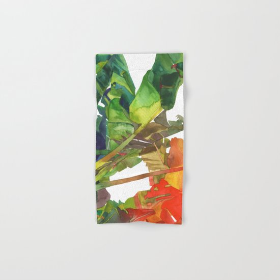 Bananas leaves Hand & Bath Towel