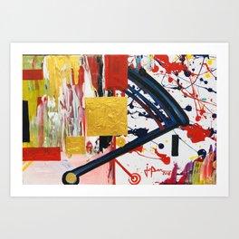 Juxtapose #3 Art Print