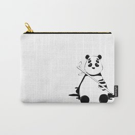 Bamboo lover little bear Carry-All Pouch