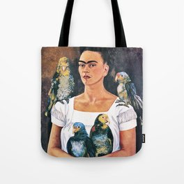 Frida Kahlo Birds Tote Bag