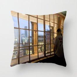 Window- Fenway Throw Pillow