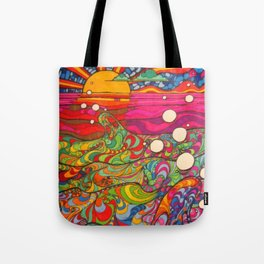 Psychedelic Art Tote Bag