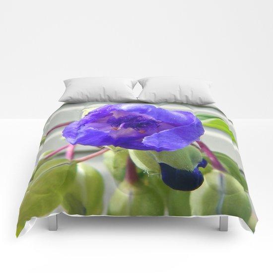 Spiderwort Flower Comforters