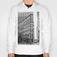 building Hoodies featuring BUILDING by Stephanie Michelle