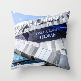 Welcome Home Tottenham Throw Pillow