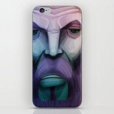old wizard iPhone & iPod Skin