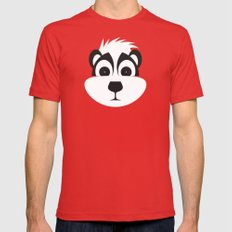 Drunk as a Skunk Red Mens Fitted Tee LARGE