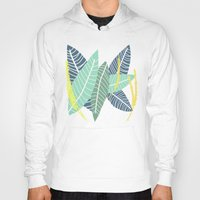 coconut wishes Hoodies featuring Coconut Blossom by Melanie Hodge