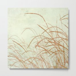 Wild Grasses Metal Print