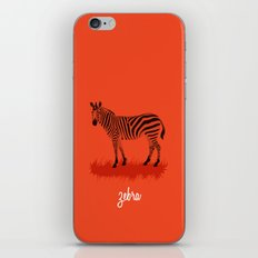 4-Legged Exotica Series: Zebra iPhone & iPod Skin